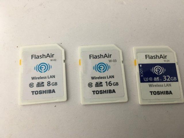 flashair ファームウェア w-04